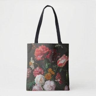 Ainda o bolsa floral escuro da vida