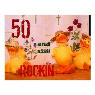 Ainda Rockin Cartão Postal