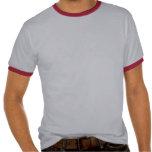 Ainda tentando decidir…  T-shirt cinzento/vermelho