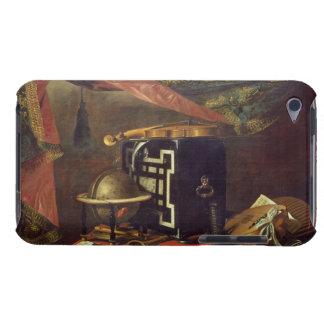 Ainda vida com instrumentos musicais (óleo em canv capa iPod Case-Mate