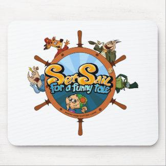 Ajuste a vela para um conto engraçado mouse pad