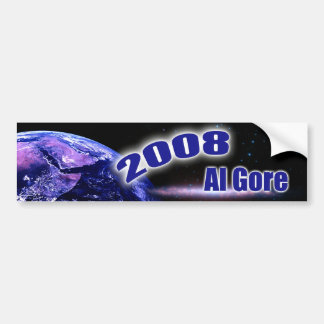 Al Gore 2008 Adesivo Para Carro