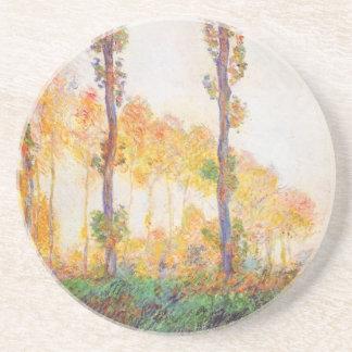 Álamos de Claude Monet outono 1891 Porta Copos