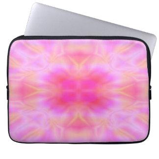 Alargamento cor-de-rosa sleeve para laptop