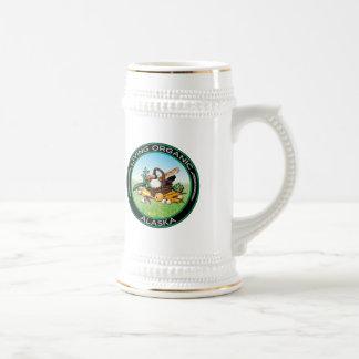 Alaska orgânico caneca de cerveja