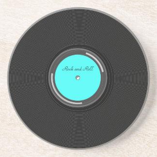 Álbum gravado porta-copos de arenito