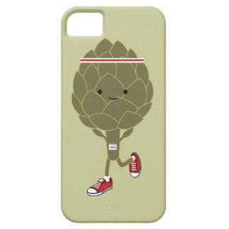 Alcachofra Running retro Capa Barely There Para iPhone 5