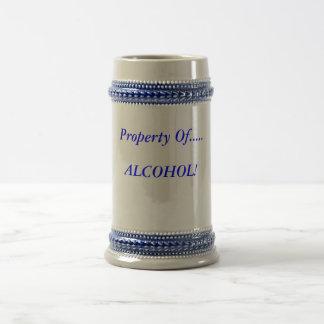 álcool caneca de cerveja