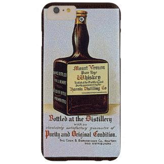 Álcool retro da propaganda do uísque de Rye do Capas iPhone 6 Plus Barely There