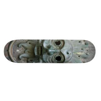 Aldrava de porta do vintage shape de skate 18,4cm