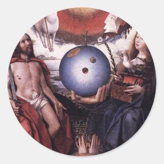 Alegoria da cristandade daqui até janeiro Provoost Adesivo