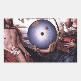 Alegoria da cristandade daqui até janeiro Provoost Adesivo Retangular