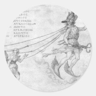 Alegoria da eloquência por Albrecht Durer Adesivo