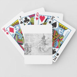 Alegoria da eloquência por Albrecht Durer Baralhos De Poker