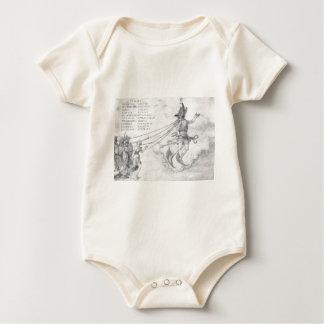 Alegoria da eloquência por Albrecht Durer Macacãozinho Para Bebês