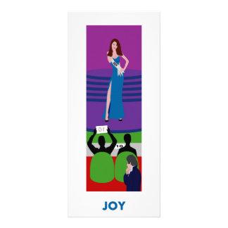 Alegria a amado imortal, parte 1: Alegria Planfetos Informativos Coloridos