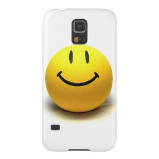 Alegria amarela da felicidade do amor do sorriso capas par galaxy s5