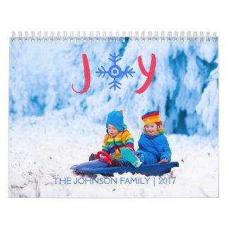 Alegria | do floco de neve calendário de 2017