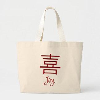Alegria vermelha ao saco do mundo, o bolsa chinês