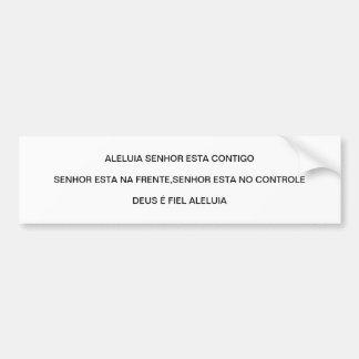 ALELUIA ADESIVO PARA CARRO