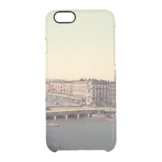 Alemanha Alster Alemanha de Hamburgo Alsterarkaden Capa Para iPhone 6/6S Clear