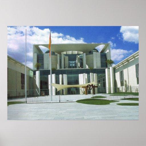 Alemanha, Berlim, o escritório do chanceler Pôsteres