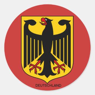 Alemanha brasão de autocolantes Grandes