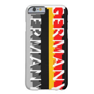 Alemanha Capa Barely There Para iPhone 6