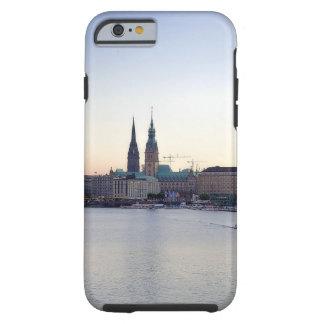 Alemanha do Hamburger de Hafen do porto de Capa Tough Para iPhone 6