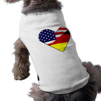 Alemão - americano roupas para caes