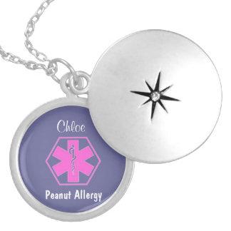 Alerta alerta médico customizável da alergia da co colares