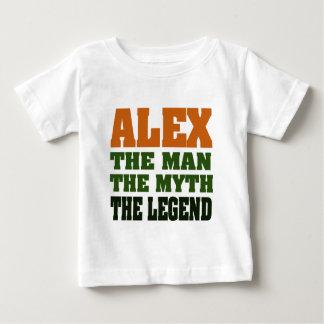 Alex - homem, o mito, a legenda! tshirts
