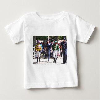 Alex Solis & Jr. de Irad Ortiz - jóquei da classe Camiseta Para Bebê