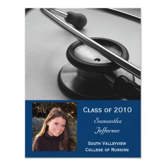 Alguma Faculdade de Medicina do ano, graduação de Convite 10.79 X 13.97cm