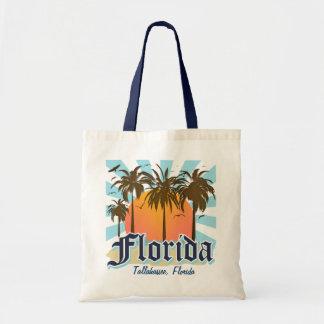 (Algumas cidade, praia) Florida personalizado Bolsas Para Compras