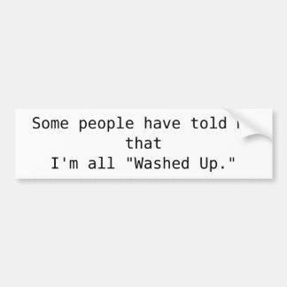 """Algumas pessoas disseram-me o thatI'm toda """"lavado Adesivo Para Carro"""