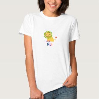 Ali ama leões t-shirts