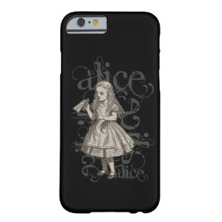 Alice no Grunge do país das maravilhas Capa Barely There Para iPhone 6