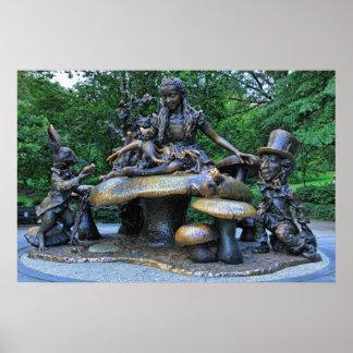 Alice no país das maravilhas - Central Park NYC Pôster