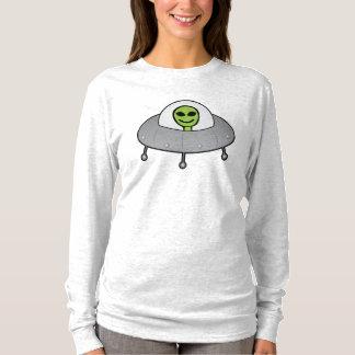 Alienígena do smiley tshirts