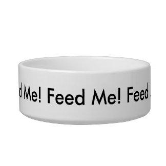 Alimente-me! Pet a bacia Tijelas Para Comida De Gatos