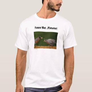 Alimente-me… por favor! (roupa leve) t-shirts