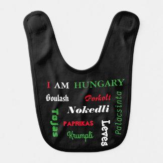 Alimentos húngaros babador infantil