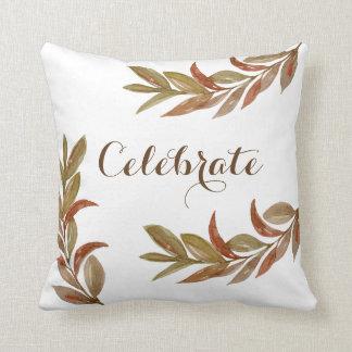 Almofada A queda ramifica travesseiro decorativo rústico