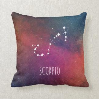 Almofada Astrologia da constelação da Escorpião