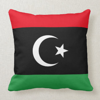 Almofada Bandeira de Líbia