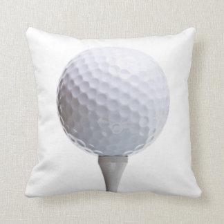 Almofada Bola de golfe & T no modelo personalizado branco