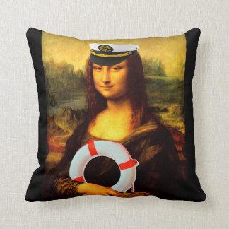 Almofada Capitão de mar Mona Lisa