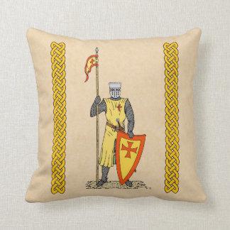 Almofada Cavaleiro do cruzado, início do século XIII