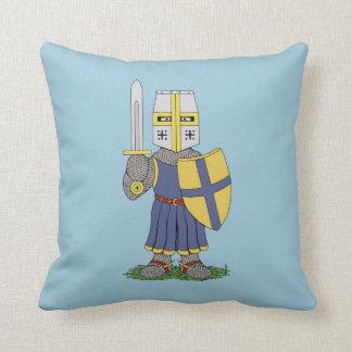 Almofada Cavaleiro medieval bonito